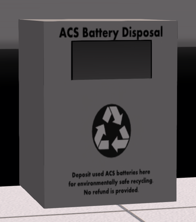 ACS Battery Disposal