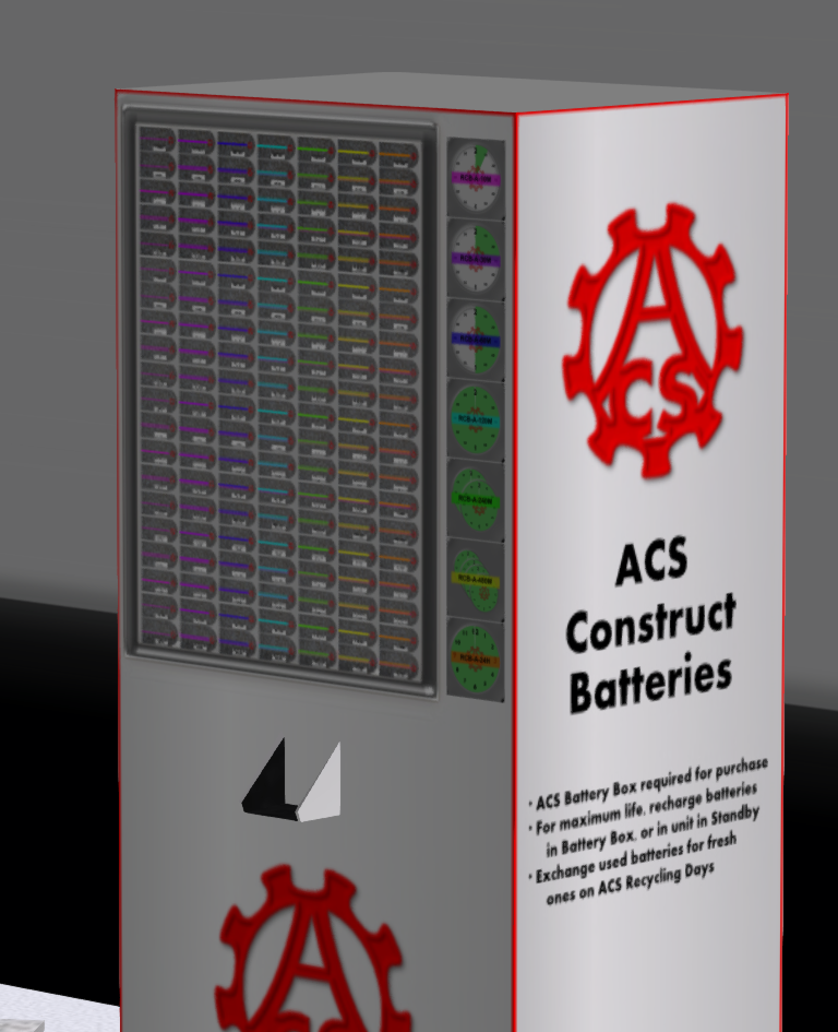 ACS Battery Vendor